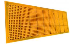 山西聚氨脂网格筛板