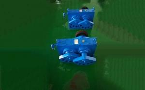 高频脱水筛激振器